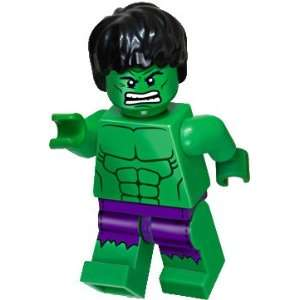 LEGO Marvel Super Heroes Exclusive Mini Figure Hulk with Ripped Purple