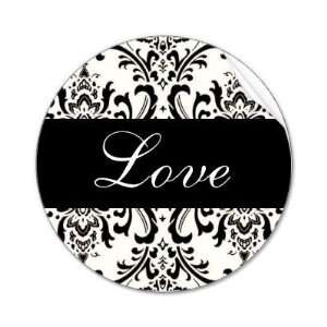 Love Black Paisley Wedding Sticker Arts, Crafts & Sewing