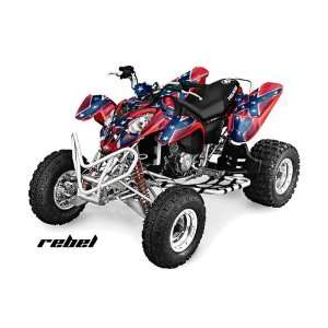 AMR Racing 2002 2011 Polaris Predator 500 ATV Quad, Graphic Kit