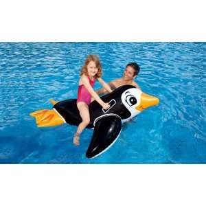 Intex Lil Penguin Ride On Pool Inflatable  Toys & Games