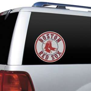 Boston Red Sox Large Die Cut Window Film Sports