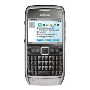 Nokia E71 Unlocked Phone with 3.2 MP Camera, 3G, Media Player, GPS