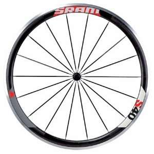 Sram S40 Wheel Black/Red Front