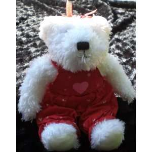 10 Tall Plush White Valentine Teddy Bear From Hallmark