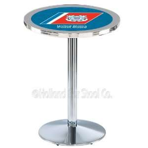 US Coast Guard Chrome Pub Table L214