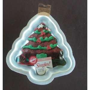 WILTON Christmas Tree Singles Cake Pan #2105 1124 Kitchen