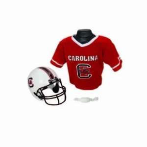 South Carolina Gamecocks Youth Football Helmet and Jersey Set by