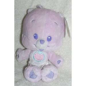 2004 Care Bear Cubs 8 Plush Baby Share Bear Cub Bean Bag