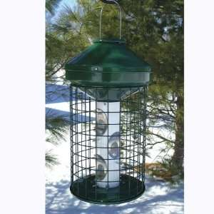 Heavy Duty Caged Mixed Seed Bird Feeder