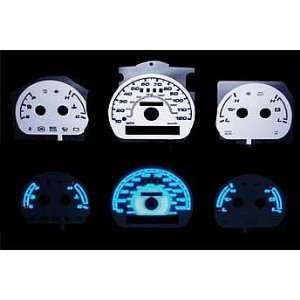 G2 Reverse Night Glow gauge faces (Ford Explorer truck