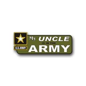 United States Army My Uncle is in the Army Bumper