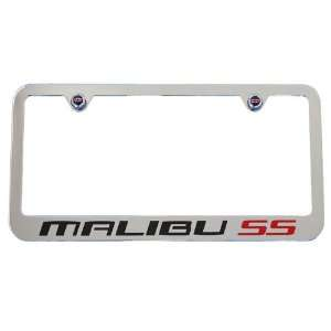 Malibu SS Chrome License Plate Frame 2006 2007 High End Automotive