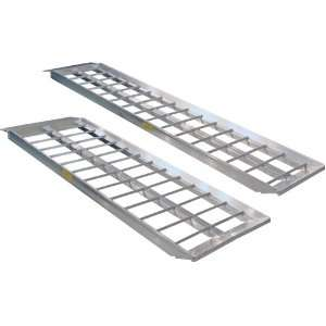 60 Straight Aluminum Trailer Loading Ramps Automotive
