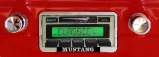 Stereo Radio 1965 65 Ford Mustang Custom Autosound USA 630 240 Watts