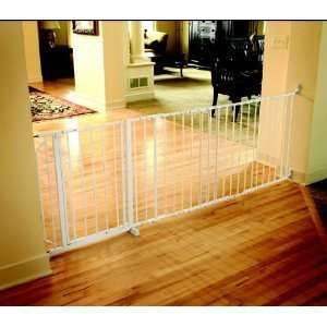Regalo Maxi X Super Wide Walk Thru Baby Pet Child Safety Gate