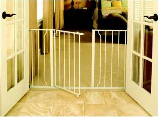 Regalo Easy Open Super Wide Walk Thru Gate   White