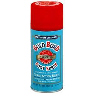GOLD BOND FOOT SPRAY 3.5 OZ