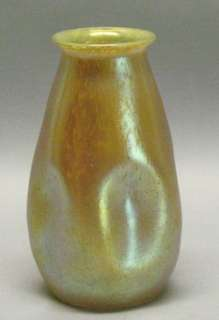 Large 7.5 Early Loetz Art Nouveau Glass Vase c. 1900