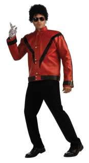 MICHAEL JACKSON THRILLER JACKET Costume Glove Wig M XL