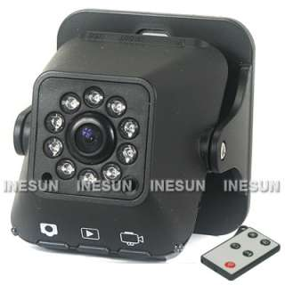 Degree Mini Motion Detection IR Day&Night Camera Video Recorder