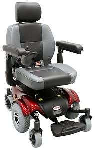 CTM HS 2850 Power Wheelchair Mid Wheel Drive Wheel Chair with