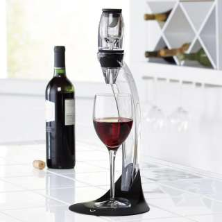 Vinturi Deluxe Red Wine Aerator Set with Stand