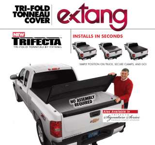 Trifecta 44775 Tonneau Bed Trifold Cover Dodge Ram 8 ft
